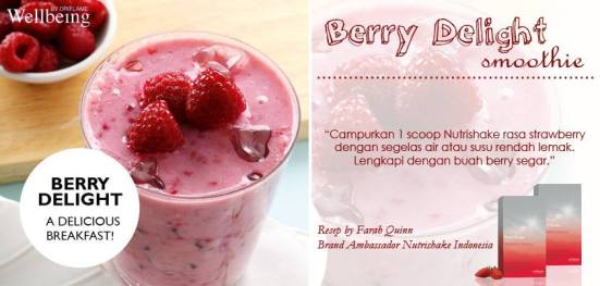 resep berry delight
