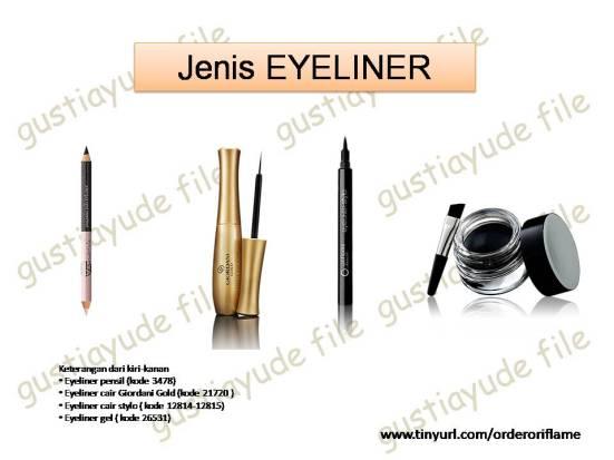 jenis eyeliner